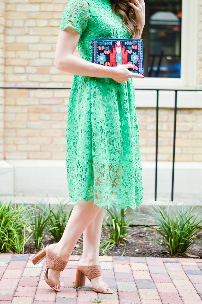 Summer Crochet Midi Dress