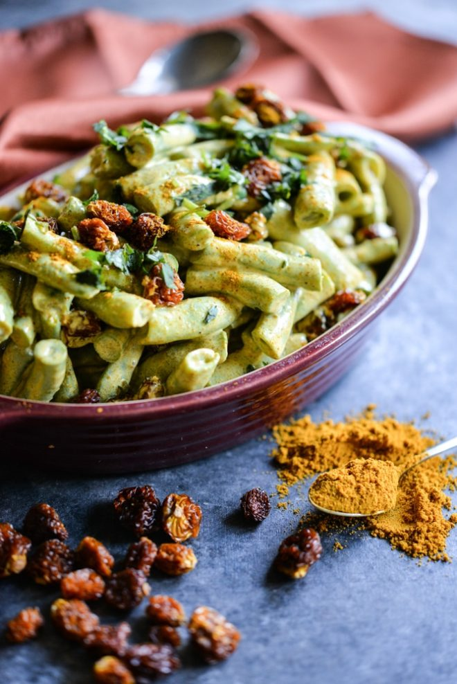 Chilled Curried Green Bean Salad is a perfect summer side dish! | Fed & Fit