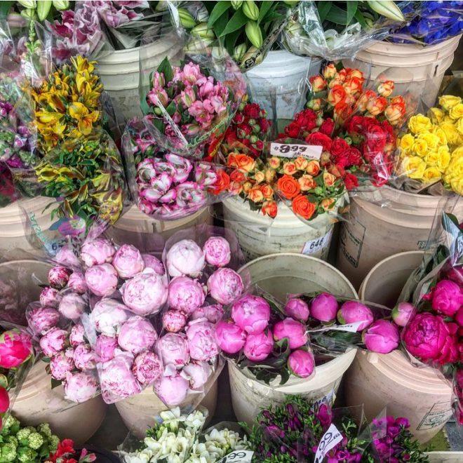 vancouver flower market