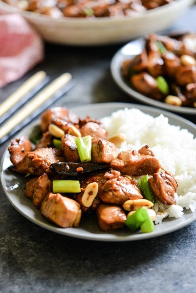 Paleo Kung Pao Chicken