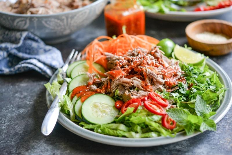 Big Batch Thai Pork Salad