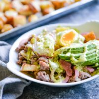 Loaded Breakfast Fries (paleo, gluten-free)-Fed and Fit-5