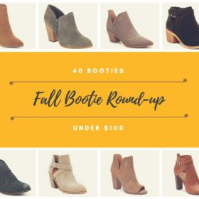 Under $100 Fall Bootie Roundup!