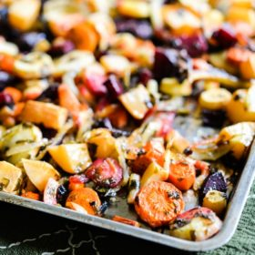Winter Root Veggie Roast