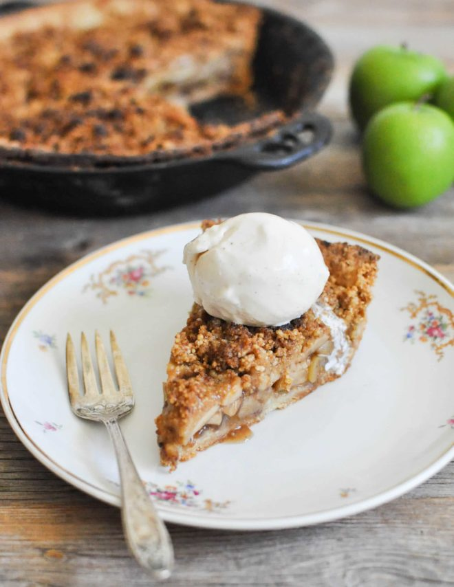 A Healthier Dutch Apple Pie