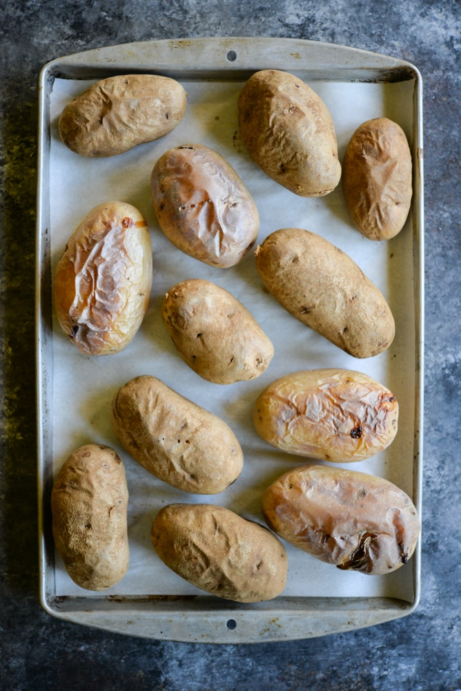 baked potatoes for meal prep