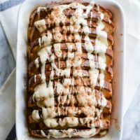 Gluten Free Cinnamon French Toast Bake