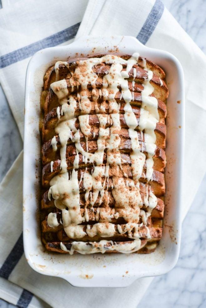 Gluten Free Cinnamon French Toast Bake