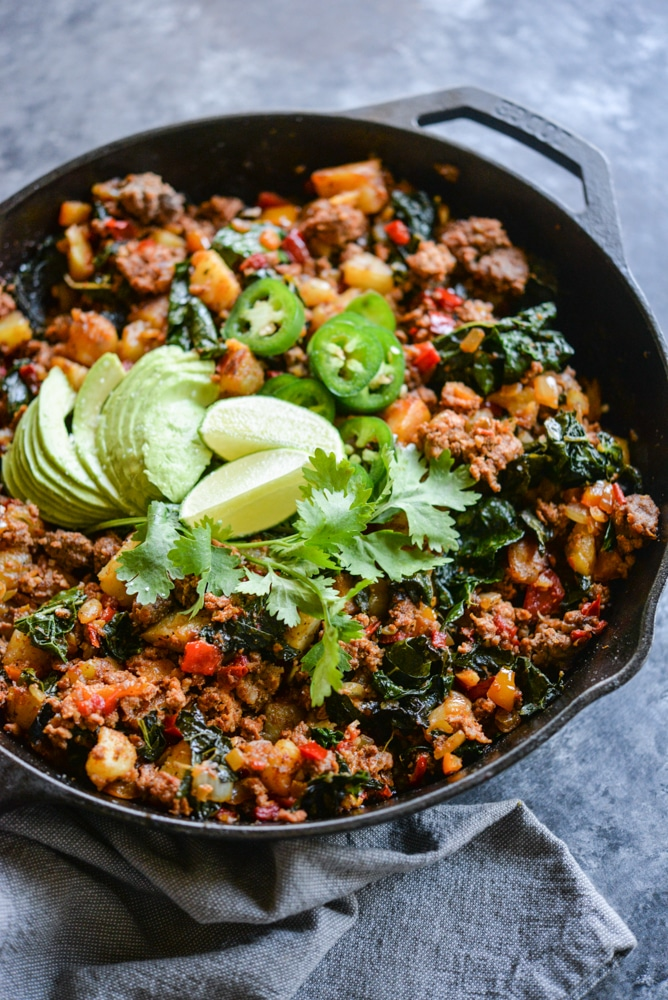 Meal Prep Taco Breakfast Hash