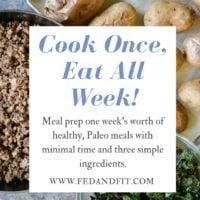 Cook Once, Eat All Week Meal Prep Series