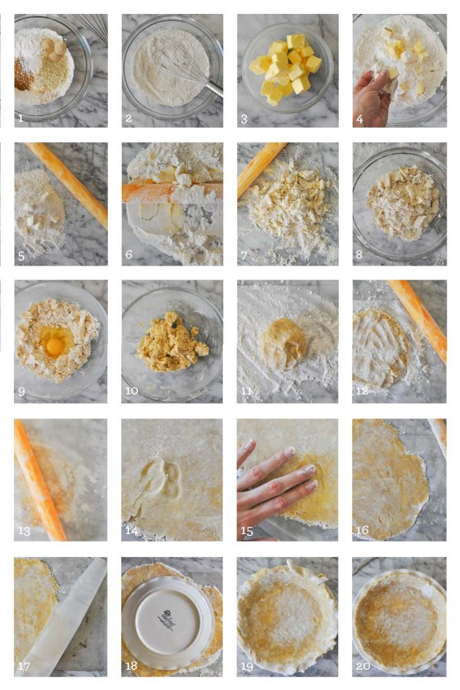 gluten free pie crust how to grid
