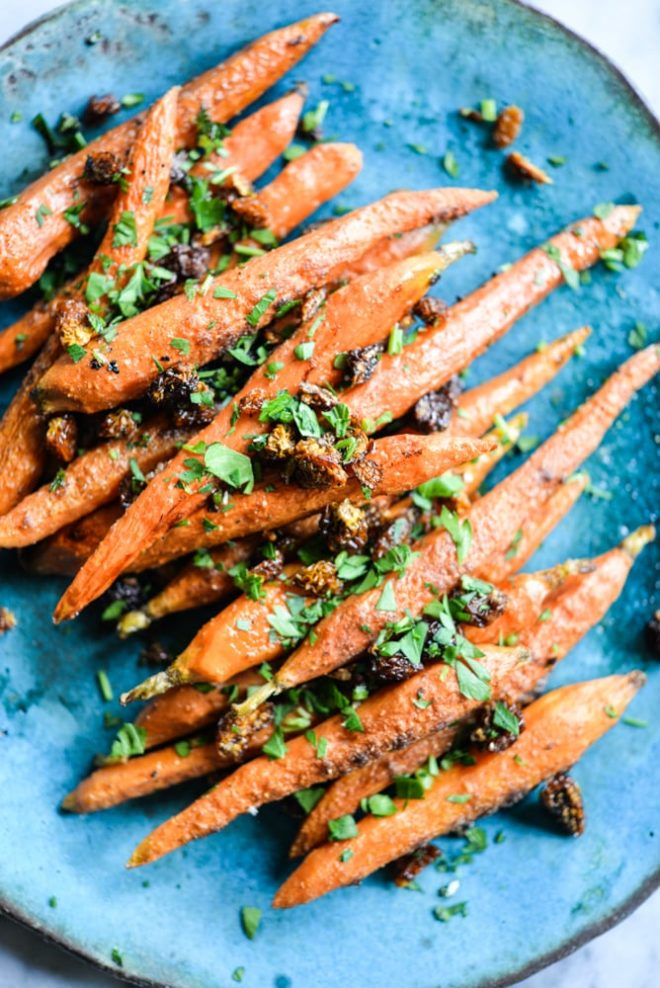Caramelized Garam Masala Carrots