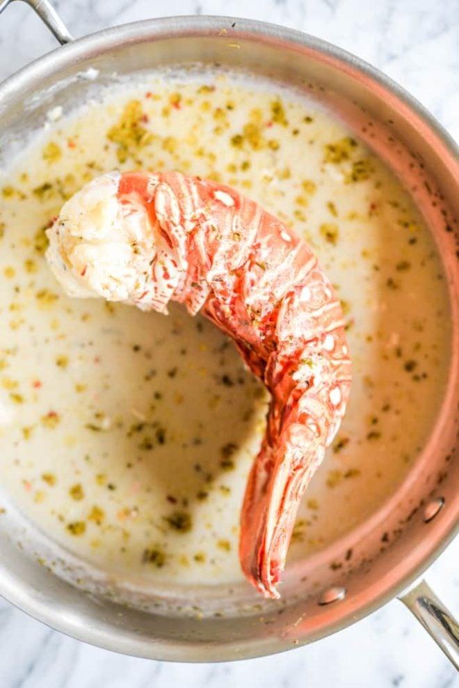 gluten free lobster Alfredo