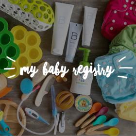 My Baby Registry