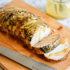 Honey Mustard Pork Loin Roast