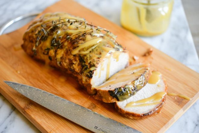 Honey Mustard Pork Roast Fed and Fit-5