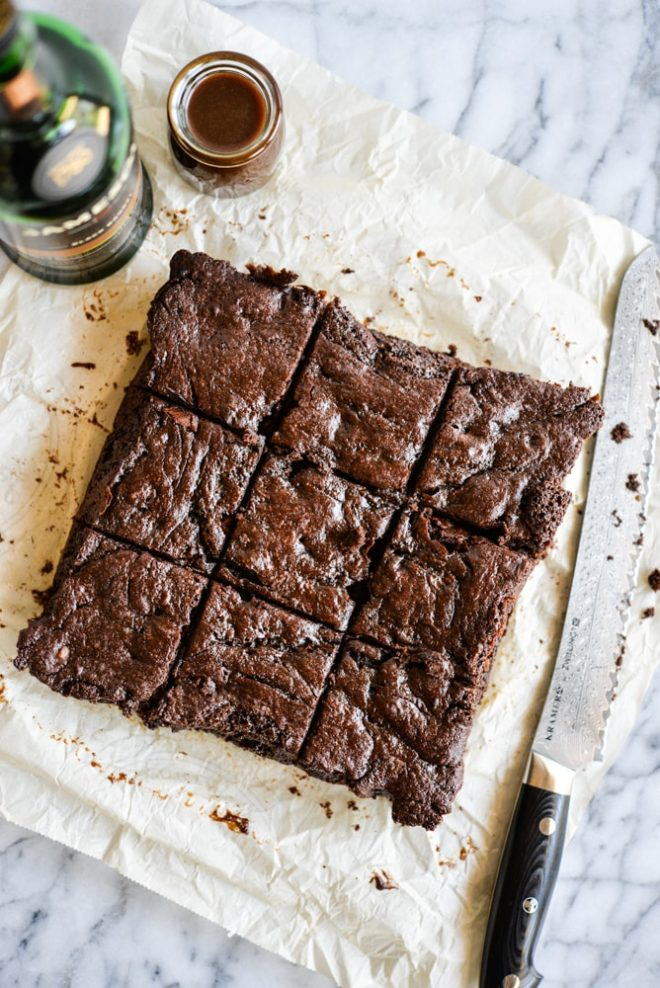 Jameson Caramel Brownies