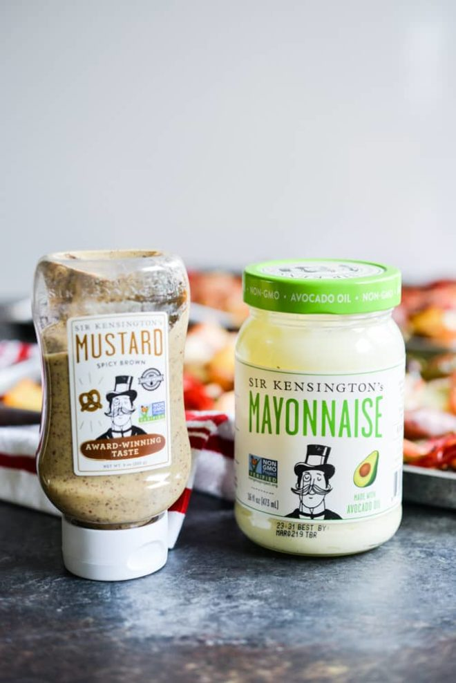 Sir kensingtons mustard and mayonnaise
