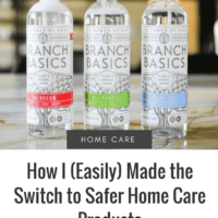 Safer Home Care Products