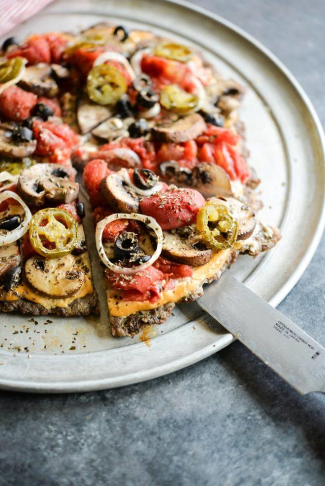 Veggie-Lover's Meatza