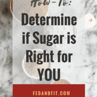 Clearing Up the Sugar Confusion