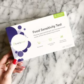 My Food Sensitivity Test Results with EverlyWell