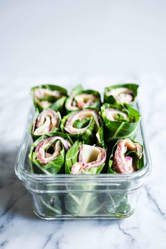 Make Ahead Italian Lunch Wraps
