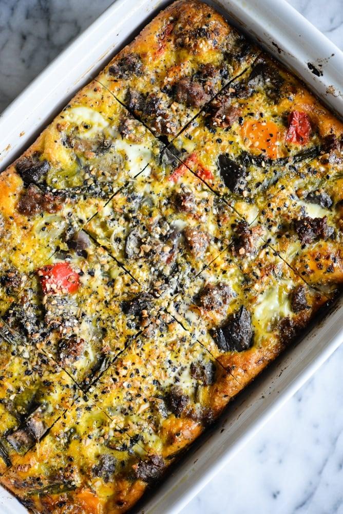 Roasted Veggie Breakfast Casserole