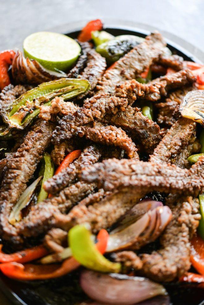 The Best Beef Fajitas