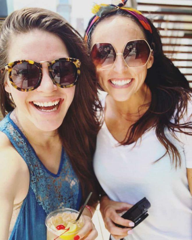 two smiling women in Houston Texas