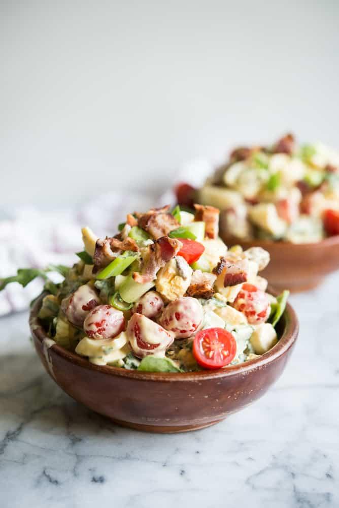 loaded BLT Egg Salad