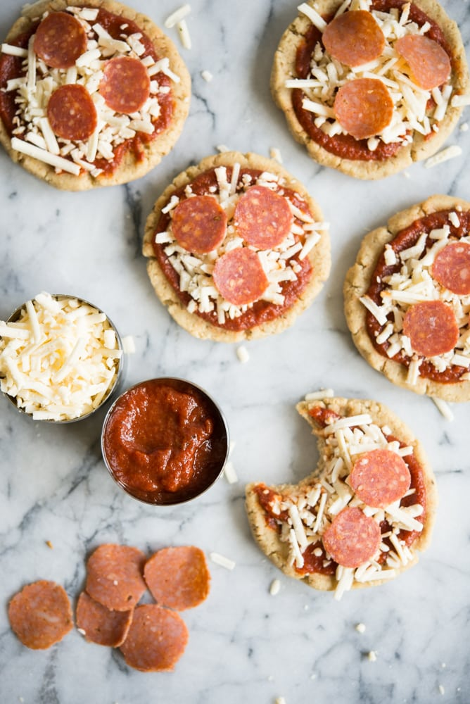 Homemade Pizza Lunchables | Fed + Fit