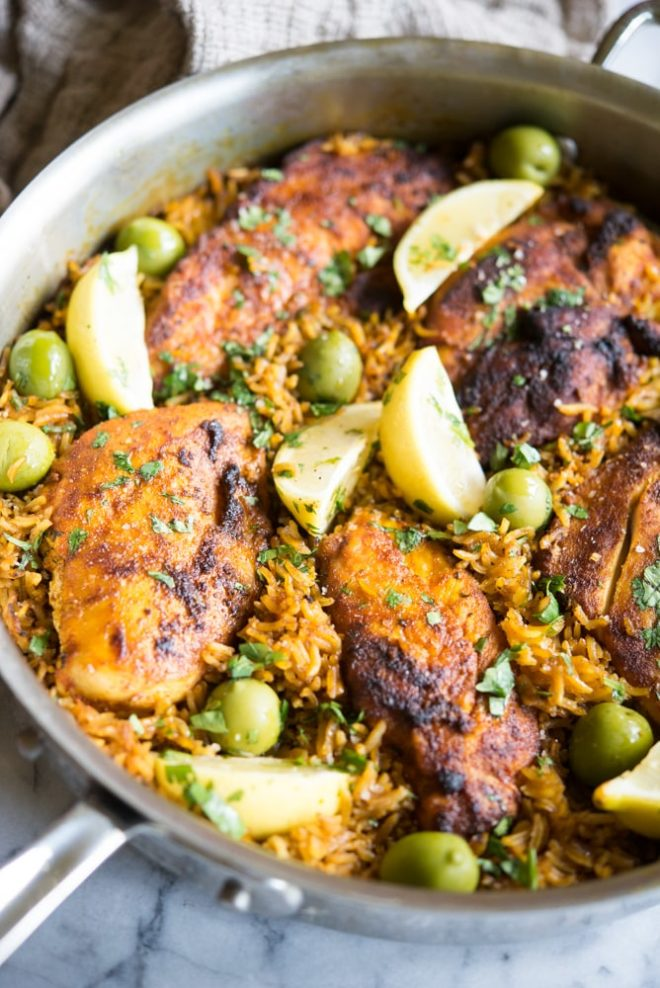 Moroccan Chicken Rice Skillet Wellness Healthy Living