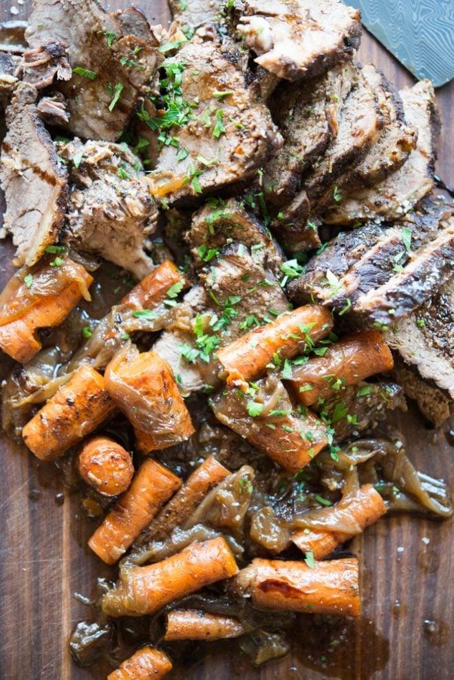 instant balsamic beef roast
