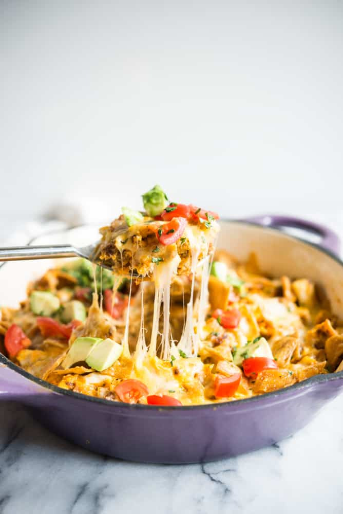 One Pan Migas Bake