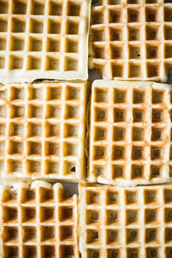gluten free overnight waffles