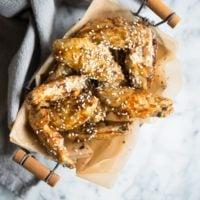 Paleo teriyaki Chicken wings