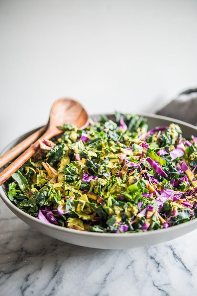 big batch healing salad