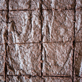 Flourless Dark Chocolate Brownies