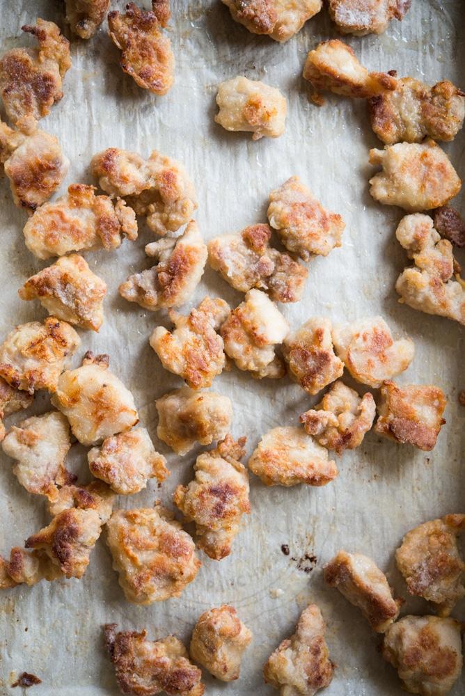 baked gluten free orange chicken