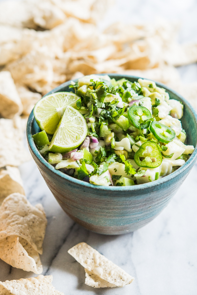 The Best Fish Ceviche Recipe With Avocado And Tomatillos Fed Fit