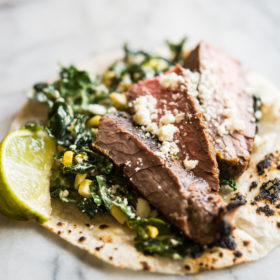 Carne Asada Tacos with Adobo Lime Marinade