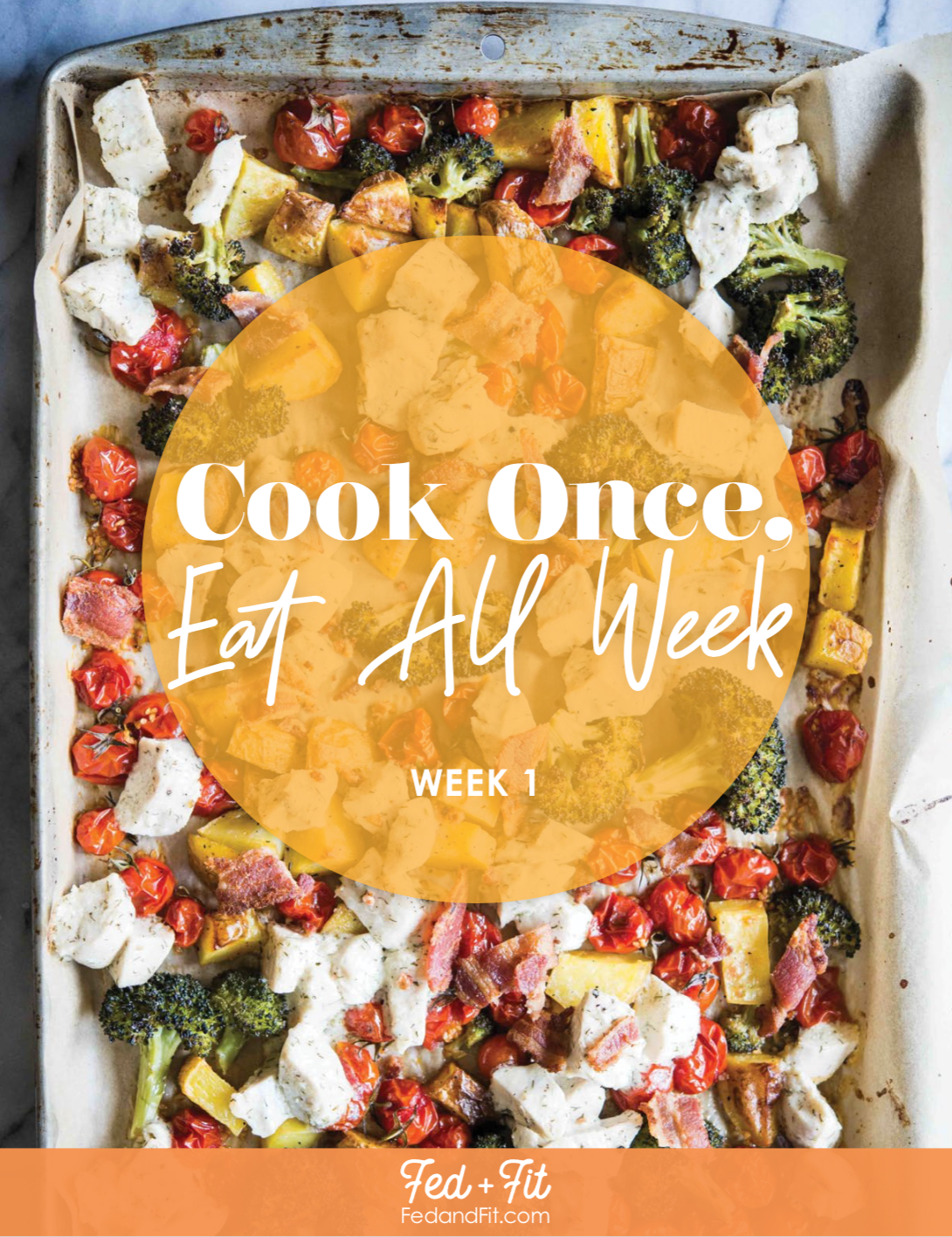 cook once eat all week 5 day gluten free meal prep plan