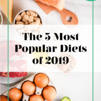 the 5 most popular diets of 2019