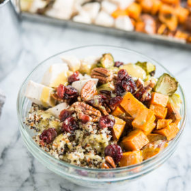 Harvest Quinoa Bowls with Chicken and Sweet Potatoes