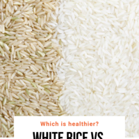 white rice vs. brown rice