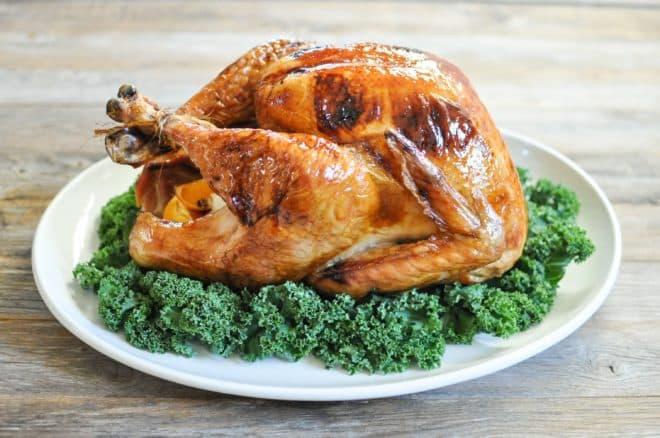 gluten free honey butter thanksgiving turkey