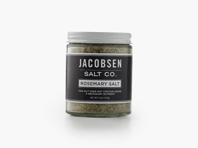rosemary salt - sustainable gift guide