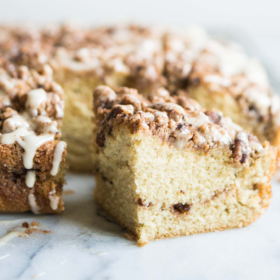 Cinnamon Roll Coffee Cake (Gluten-Free)