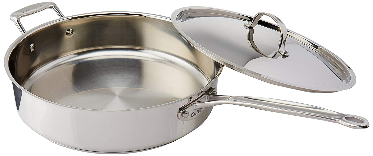 stainless steel pan - best cookware